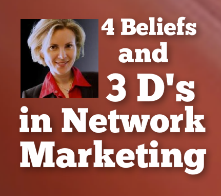 4 beliefs and 3 d's
